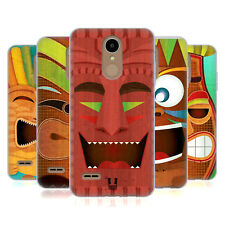 HEAD CASE DESIGNS COLLECTION TIKI ÉTUI COQUE EN GEL MOLLE POUR LG K8 (2017)