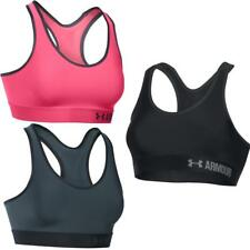 Under Armour Womens Mid-Length Sports Bra | Running Training Gym Mid Support Top