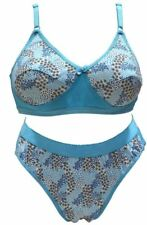 PRINTED BRA PANTY SET (BLUE COLOR) [SGDEEPIKASET]