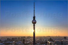 poster leinwandbild fernsehturm berlin filtergrafia. Black Bedroom Furniture Sets. Home Design Ideas