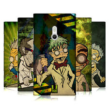 HEAD CASE DESIGNS SCIENZIATI PAZZI COVER RETRO RIGIDA PER NOKIA TELEFONI 2