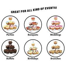 ASAB Cupcake Stand Party Display Muffin Holder Wedding Birthday Table Décor