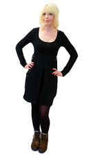 SALE! NEW 'ALPINE' SUPREMEBEING RETRO INDIE DRESS IN BLACK K33
