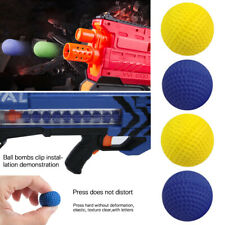 100Pcs Bullet Balls Rounds Compatible For Nerf Rival Apollo Child Toy Gun Refill