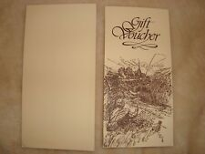 Fishing gift fisherman fishing voucher Yesterday Tackle and Books gift voucher