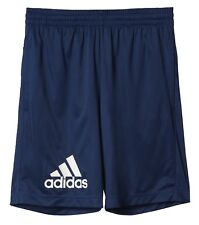 adidas Performance enfants sport entraînement Short Gear Up Short bleu/Blanc