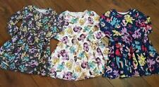 New Baby Girls My Little Pony Long Sleeved Jersey Skater Dress Age 1-3 Years