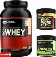 Optimum Nutrition ON 100% Gold Standard Whey Proteína + GRATIS Creatina o