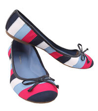 Tommy Hilfiger AW BELISANA Blue Multi Fabric Women's Casual Shoes - $0 Free Ship