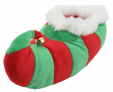 Slumberzzz Unisex Adults Plush Novelty 3D Christmas Elf Slippers