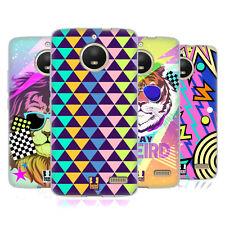 HEAD CASE DESIGNS BACK TO THE 80S SOFT GEL CASE FOR MOTOROLA MOTO E4