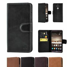 32nd Premium Series - Real Leather Book Wallet Case Cover For Huawei Mate 9