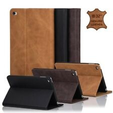 32nd PREMIUM SERIE - Cuero Auténtico Soporte Folio Funda para Apple iPad Mini 4