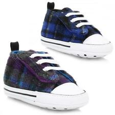 Boys Girls Lace Up Kids All Star Converse Toddlers Babies Infants Trainers Shoes