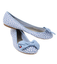 Tommy Hilfiger AW CORRIE-A Light Blue Fabric Women's Casual Shoes - $0 Free Ship