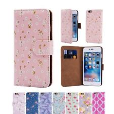 32nd de flores Series - Cuero Artificial Funda Tipo Cartera para Apple iPhone 6