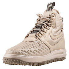 Mens Nike Lunar Force 1 Duckboot 17 Leather & Synthetic Beige Shoes Boots