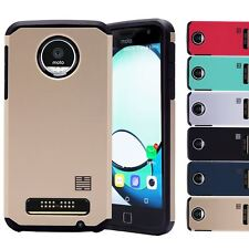 32nd Slim Armour Series - Dual-Layer Shockproof Case Cover Motorola Moto Z Play