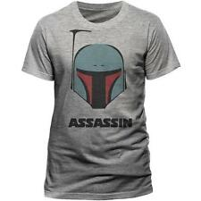 STAR WARS - BOBA FETT Assassin Camiseta - Nuevo y Oficial Lucasfilm LTD / Disney