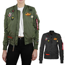 ALPHA INDUSTRIES giacca donna MA-1 TT TOPPA II WMN Bomber bombergiacca NUOVO