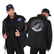 ALPHA INDUSTRIES giacca invernale uomo M-65 HERITAGE NASA S M L XL XXL