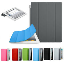 MODA ultra sottile Magnetica Pelle Smart Cover Custodia per Apple iPad 2 3 4 Hot