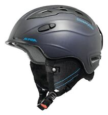 ALPINA adulto Casco da sci Casco da sci neve Mythos nightblue-denim OPACO