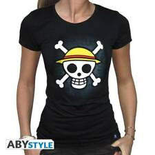 ONE PIECE - Tshirt Skull with map woman SS black - basic (GD)