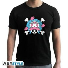 ONE PIECE - Tshirt Skull Chopper NW man SS black - basic