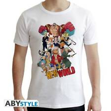 ONE PIECE - Tshirt New World Group man SS white - new fit