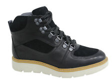 Timberland Kenniston Womens Black Leather Lace Up Hiking Boots A18U5 D108