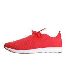 Native Apollo Moc Torch Red Shell White Nat Rubber Schuhe Sneaker Rot Weiß