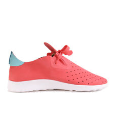 Native Apollo Moc Snapper Red Cabo Blue Shell White Schuhe Sneaker Pink Weiß