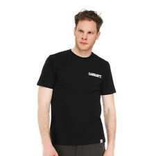 Carhartt WIP - College Script T-Shirt Black / White