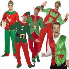 Elf Costume | Santa Little Helper | Grotto | Adult Fancy Dress Costume