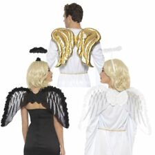 Adult Angel Wings | Nativity Christmas Fancy Dress Costume Accessory