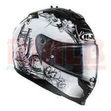 Casco Integrale HJC IS17 BARBWIRE - MC31 (nero/bianco/viola)