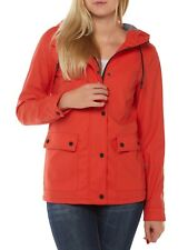 NUOVO Only Giacca Donna Cappotto impermeabile onlvaliant Raincoat OTW rosso