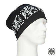 WEST COAST CHOPPERS beanie Cross Cappello Floscio BERRETTO MOTOCICLISTA CUSTOMS