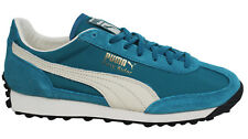 Puma Easy Rider VTG Lace Up Teal Leather Mens Trainers 363132 02 U79