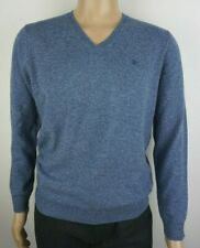 MEN`S NEW ZARA V NECK KNIT JUMPER SIZES S-M-L-XL AUTHENTIC SWEATER TOP