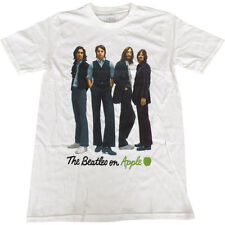 THE BEATLES - ICONA IMAGE manica corta t-shirt - NUOVO & UFFICIALE APPLE CORPS