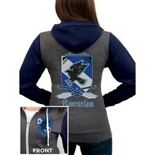 Licencia Oficial Mujer Harry Potter Hogwarts Ravenclaw House ESCUDO Zoodie