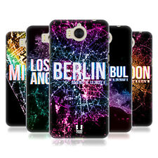 HEAD CASE DESIGNS CITY LIGHTS HARD BACK CASE FOR HUAWEI Y6 (2017) / NOVA YOUNG