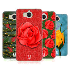 HEAD CASE DESIGNS ROSES HARD BACK CASE FOR HUAWEI Y6 (2017) / NOVA YOUNG