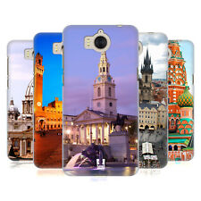 HEAD CASE DESIGNS FAMOUS CITY SQUARES CASE FOR HUAWEI Y6 (2017) / NOVA YOUNG