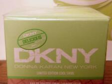 DKNY-DONNA KARAN NEW YORK DELICIOUS DELIGHTS COOL SWIRL 50ML EDT(SPRAYED ONCE)