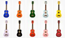 Makala Soprano Dolphin Ukulele Fitted With Aquila Strings & Case Free Pitch Pipe
