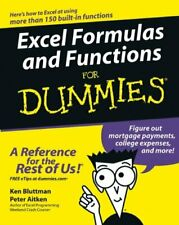 Excel Formulas and Functions For Dummies by Aitken, Peter G. 0764575562 The Fast