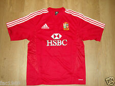 British E Irlandese LIONS Sud Africa tour 2009 ROSSO rugby maglia HSBC S NUOVO
